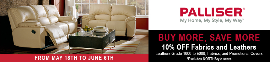 Palliser 10% Off Leather Home Theater Seating