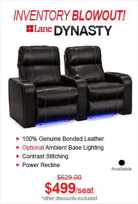 Seatcraft Dynasty Inventory Blowout Home Theater Seating