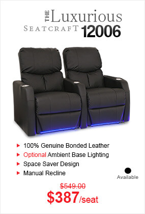 The Luxurious 12006 Home Theater Seating