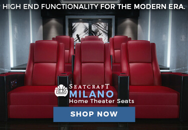 Seatcraft Milano Home Theater Seating