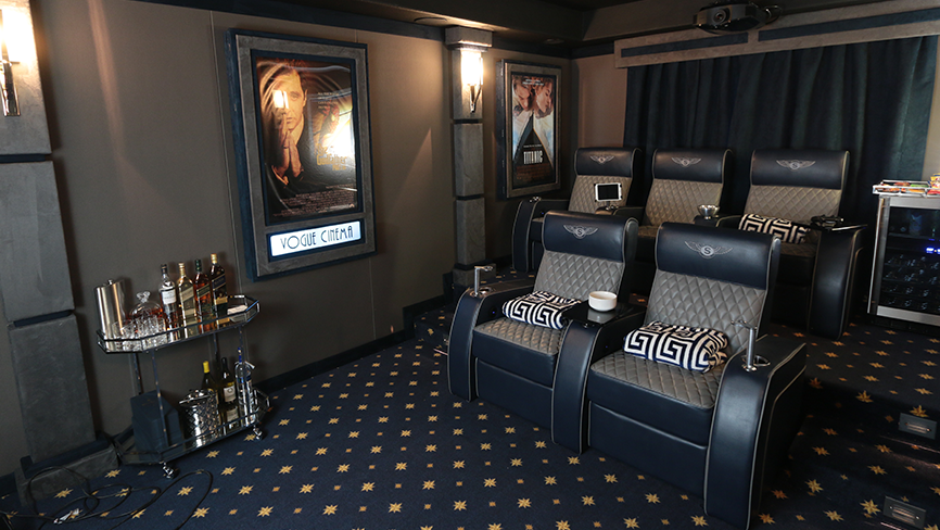 Cavallo Continental Complete Theater Design