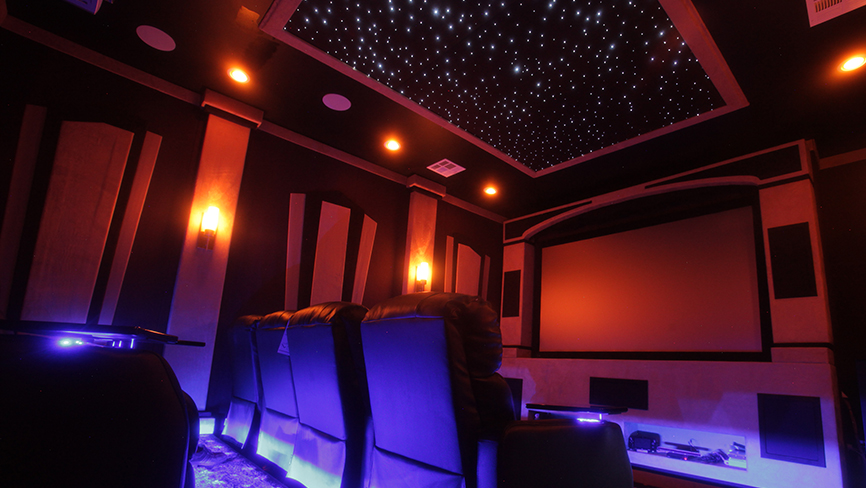 SoundRight Rapture Complete Theater Design
