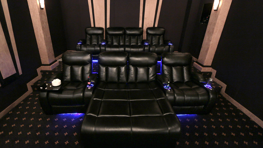 Seatcraft grenada home theater seating home review for Chaise diamante