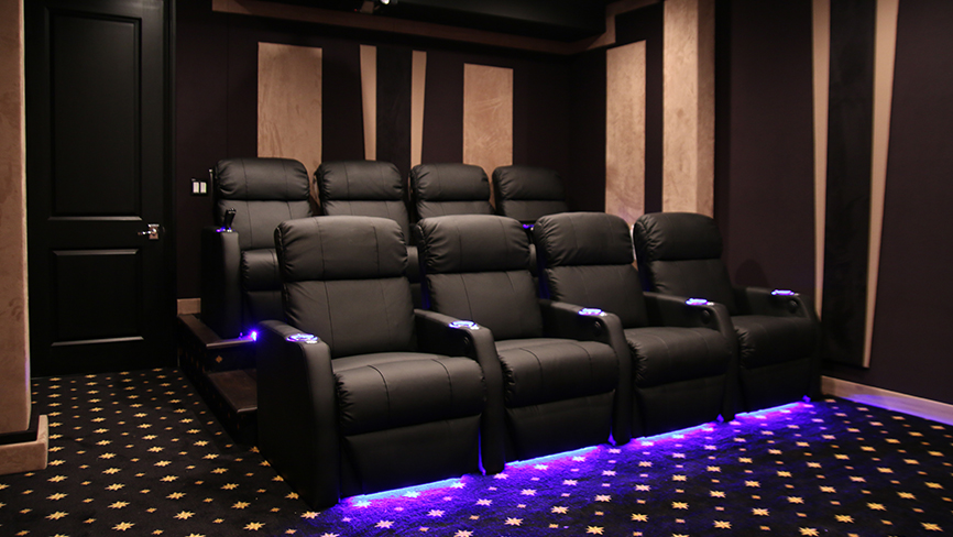 Seatcraft Sienna Complete Theater Design