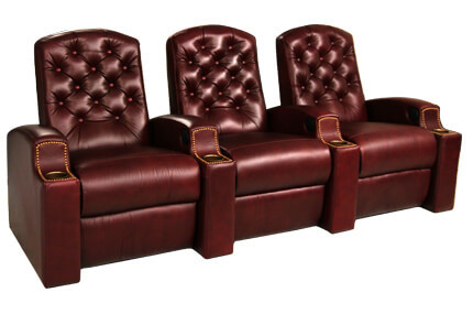 Seatcraft Drake 7 Materials, 95+ Colors, Power or Manual Recline, Straight or Curved Rows
