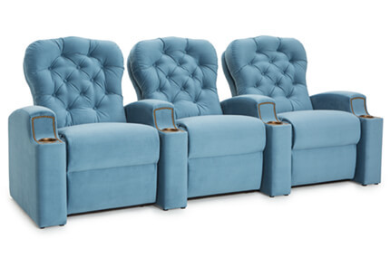 Seatcraft Monarch 7 Materials, 95+ Colors, Power or Manual Recline, Straight or Curved Rows
