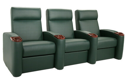 Seatcraft Normandy 7 Materials, 95+ Colors, Power or Manual Recline, Straight or Curved Rows