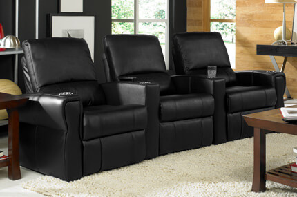 Seatcraft Pallas Leather, Power or Manual Recline, Black or Brown
