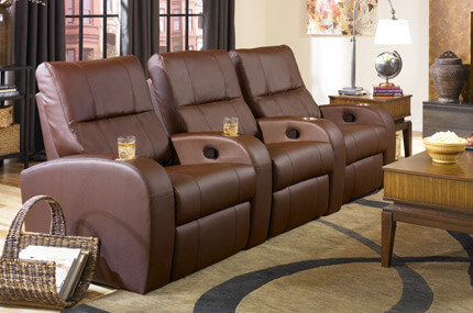 Seatcraft Vader Bonded Leather, Manual Recline, Black or Brown