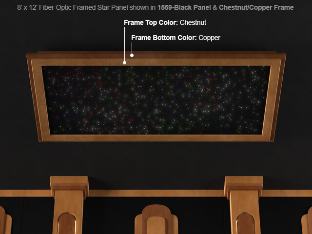 Soundright Framed Fiber Optic Star Panel 4seating