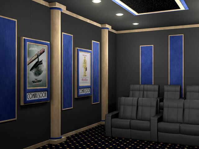 SoundRight Classic Theater Column Home Theater Decor