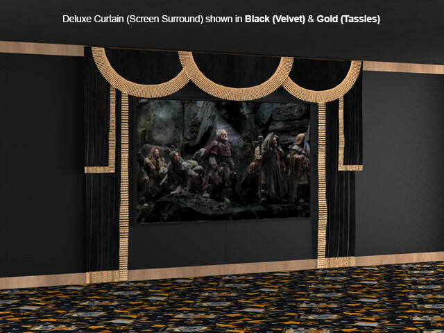 SoundRight Deluxe Surround Curtains
