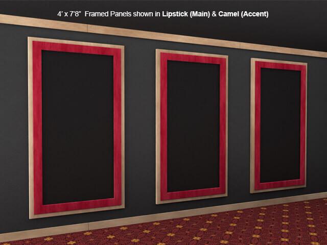 SoundRight Framed Wallpanel