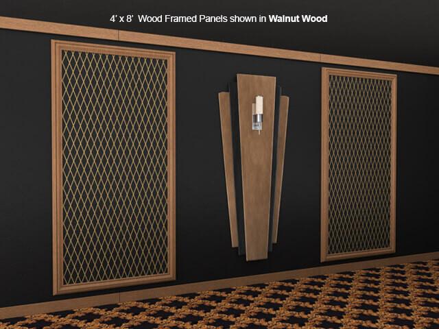 SoundRight Wood Framed Panel