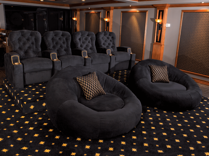 Seatcraft Cuddle Seat Complete Home Theater