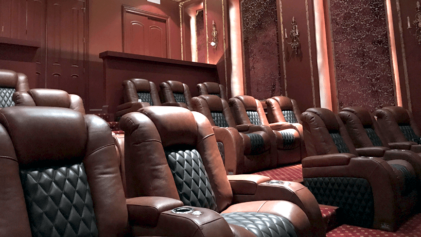 Seatcraft Diamante Complete Theater Design