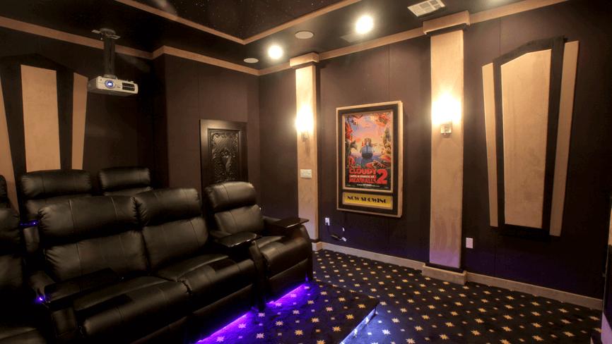 Seatcraft Sienna Complete Theater Design