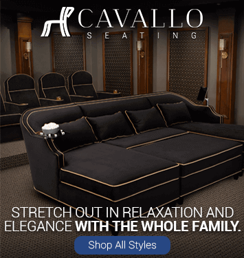 Cavallo Media Lounge Sofas