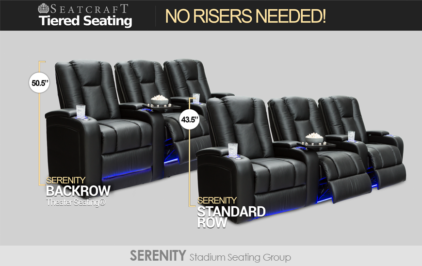 Tiered Seating Serenity