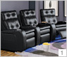 Palliser 40400-45400 Gain Home Theater Seating