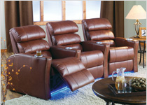 Palliser Feedback Movie Theater Chairs