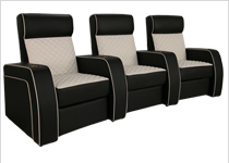 Seatcraft rapture home theater seating 4seating - Sillon home cinema ...