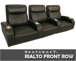 Rialto Front Row Theater Seats