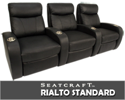 Rialto Home Theater Seating