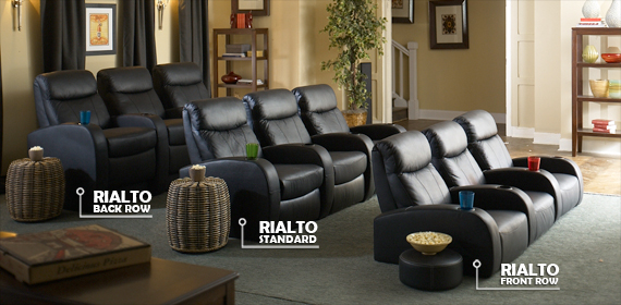 Rialto Stage Home Theater Seating
