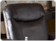Padded Headrest Home Theater Seat