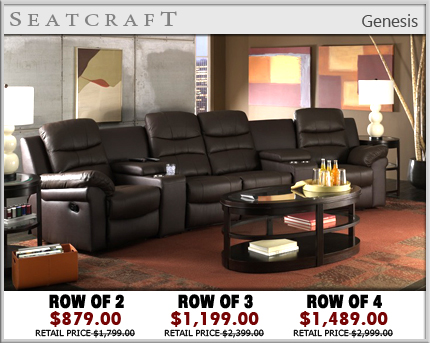 Genesis Home Theater Furniture - Home theater furniture