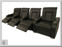 Highroller Home Theater Seating