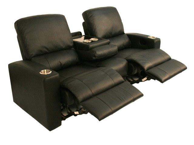 Majestic modular home theater seating and theater seat lounger Loveseat theater seating
