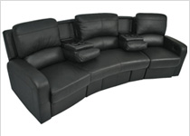 Seatcraft Vesta Home Theater Sectional