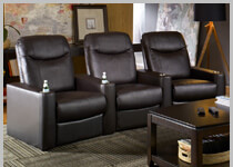 Seatcraft Argonaut - Row of 3 Clearance Home Theater Seating