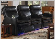 Seatcraft Marbella - Row of 3 Clearance Home Theater Seat